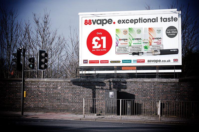 88vae billboard campaign