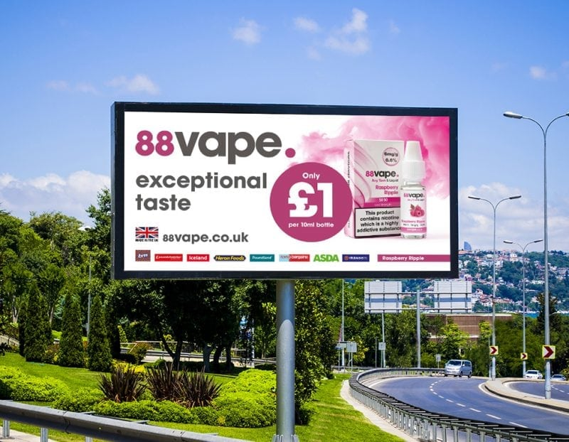 88vape on tour