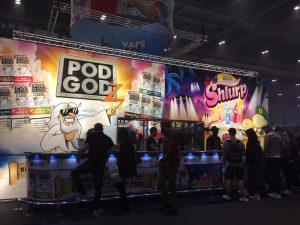 Vape Importers Trade Show - Pod Godz & Shlurp