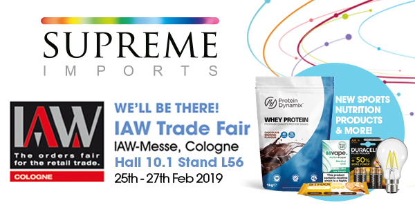 Supreme IAW We're exhibiting