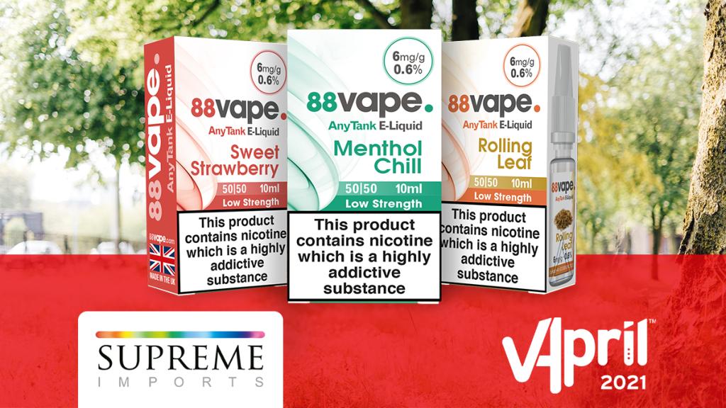 VApril - 88vape Flavours